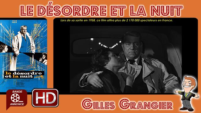 Le Désordre et la nuit de Gilles Grangier (1958)