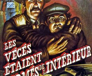 Affiche du film Les Vécés étaient fermés de l'intérieur de Patrice Leconte