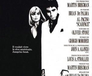 Affiche du film Scarface de Brian De Palma