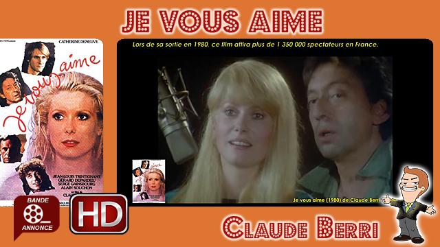 Je vous aime de Claude Berri (1980)