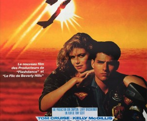 Affiche du film Top Gun de Tony Scott