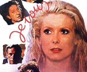 Affiche du film Je vous aime de Claude Berri