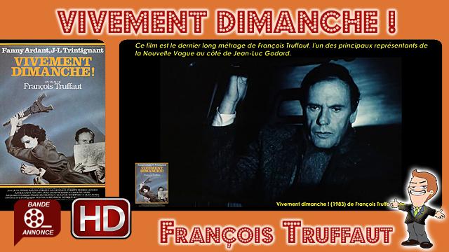 Vivement dimanche ! de François Truffaut (1983)