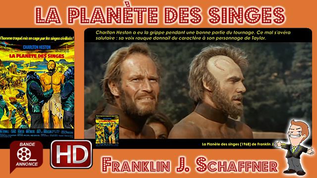 La Planète des singes de Franklin J. Schaffner (1968)
