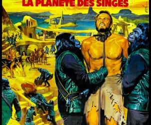 Affiche du film La Planète des singes de Franklin J. Schaffner