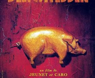 Affiche du film Delicatessen de Jean-Pierre Jeunet et Marc Caro