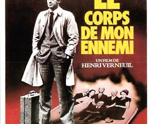 Affiche du film Le corps de mon ennemi de Henri Verneuil