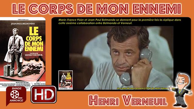 Le corps de mon ennemi de Henri Verneuil (1976)