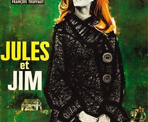 Affiche du film Jules et Jim de François Truffaut