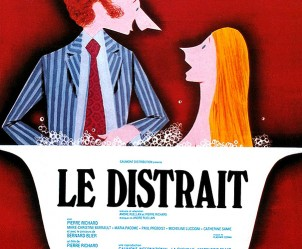Affiche du film Le Distrait de Pierre Richard