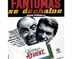 Affiche du film Fantômas se déchaîne de André Hunebelle