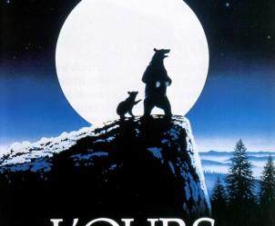 Affiche du film L'ours de Jean-Jacques Annaud