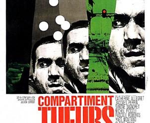 Affiche du film Compartiment tueurs de Costa-Gavras