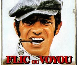 Affiche du film Flic ou voyou de Georges Lautner