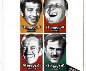 Affiche du film Le Cerveau de Gérard Oury