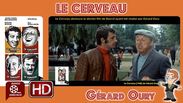 Le Cerveau de Gérard Oury (1968)