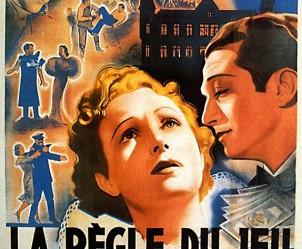 Affiche du film La règle du jeu de Jean Renoir