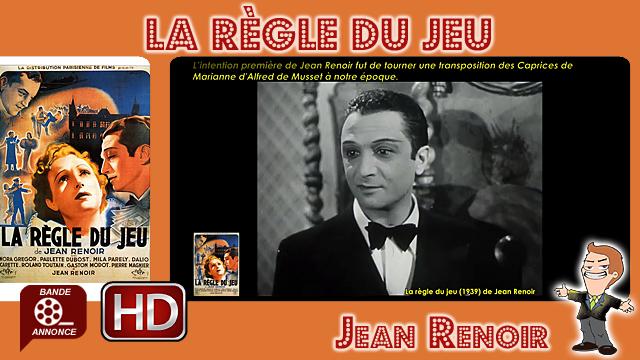 La règle du jeu de Jean Renoir (1939)