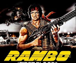 Affiche du film Rambo de Ted Kotcheff