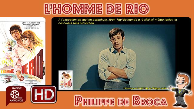 L'Homme de Rio de Philippe de Broca (1964)