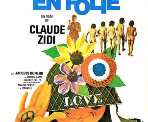 Affiche du film Les Bidasses en folie de Claude Zidi