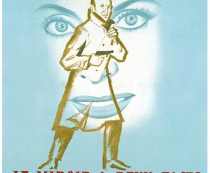 Affiche du film Le Miroir à deux faces de André Cayatte