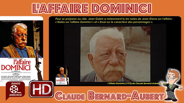 Retrouvez la bande-annonce du film L'Affaire Dominici ponctuée des secrets de tournage et d'anecdotes sur celui-ci.
