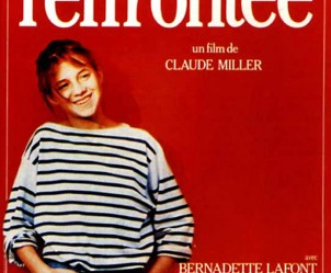 Affiche du film L'Effrontée de Claude Miller