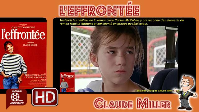 L'Effrontée de Claude Miller (1985)