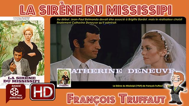 La Sirène du Mississipi de François Truffaut (1969) #Cinemannonce 358